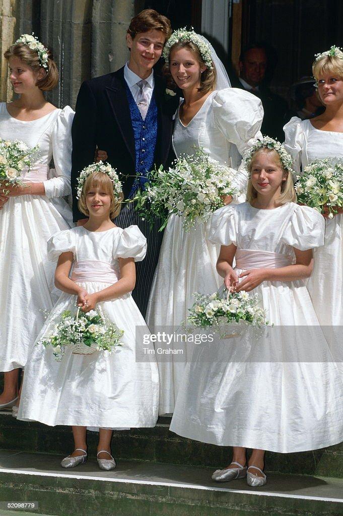 James Ogilvy Wedding : News Photo