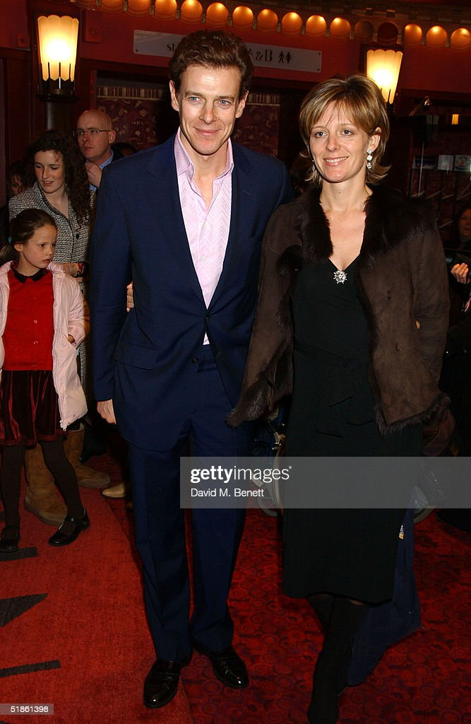 James Oglevey and Julia Oglevey attend the 'Mary Poppins' Gala Preview in aid of 'Over the Wall' Charity, ahead of tomorrow's press night at the Prince Edward Theatre December 14, 2004 in London, England.
