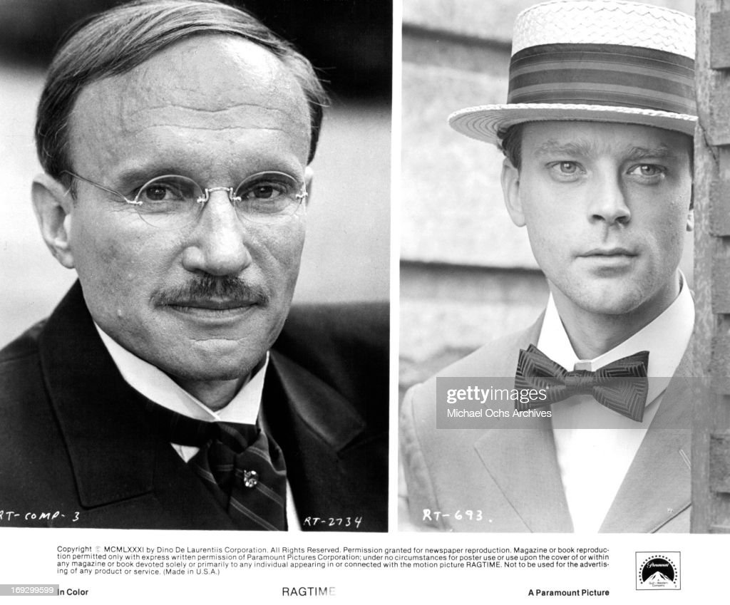 James Olson And Brad Dourif In 'Ragtime' : News Photo