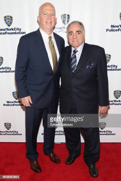 James O'Neill and Steve Gold attend the New York City Police Foundation 2018 Gala on May 17 2018 in New York City
