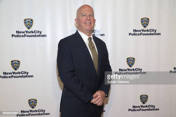 James O'Neill attends the New York City Police Foundation 2018 Gala on May 17 2018 in New York City