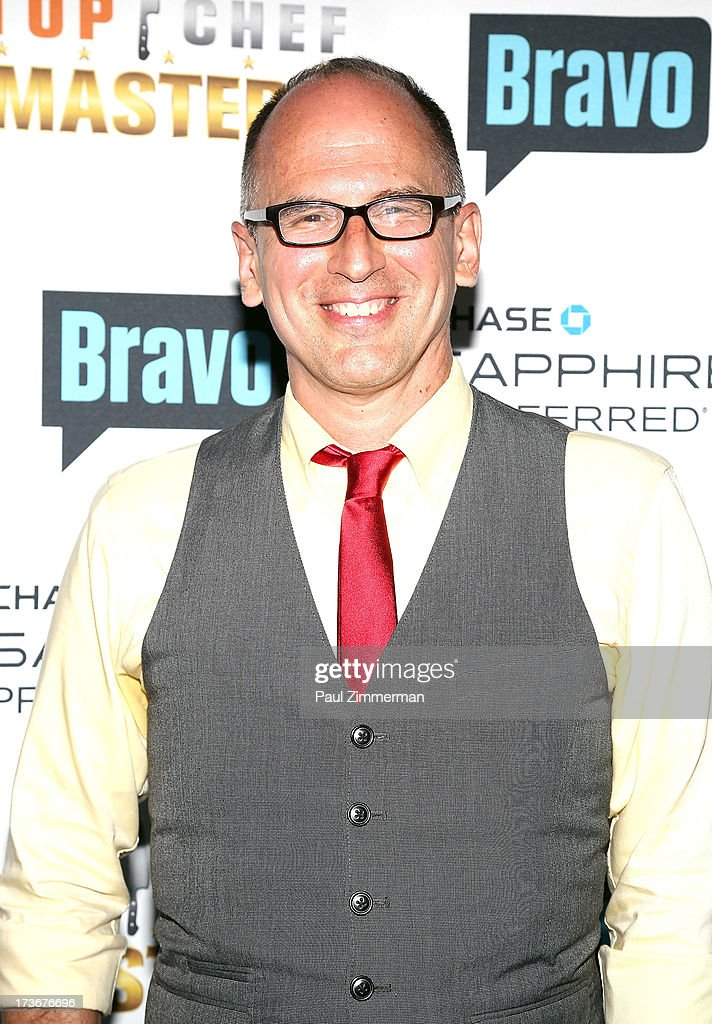James Oseland attends Bravo's 'Top Chef Masters' Season 5 Premiere Celebration at 82 Mercer on July 16, 2013 in New York City.