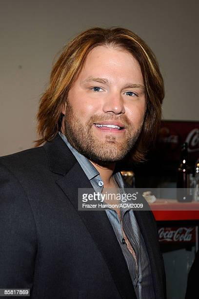 James Otto backstage during the 44th annual Academy Of Country Music Awards held at the MGM Grand on April 5 2009 in Las Vegas Nevada