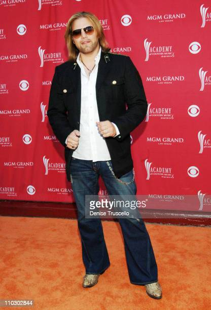 James Otto during 42nd Academy of Country Music Awards Red Carpet at The MGM Grand Hotel and Casino Resort in Las Vegas Nevada