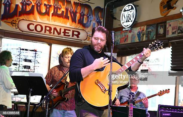 James Otto performs at The Legend's at Legends' during CRS 2015 on February 25 2015 at the in Nashville Tennessee