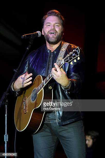 James Otto performs onstage at The Agency Group Party during Day 3 of the IEBA 2014 Conference on September 29 2014 in Nashville Tennessee