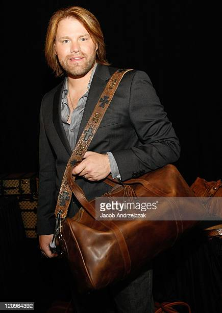 James Otto poses at the Backstage Creations during the 2009 Academy of Country Music Awards Day 2 on April 5 2009 in Las Vegas Nevada
