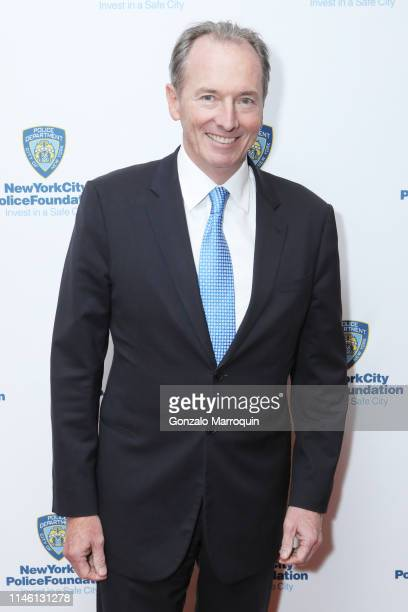 James P Gorman attend the 2019 New York City Police Foundation Gala at New York Hilton Midtown on April 30 2019 in New York City