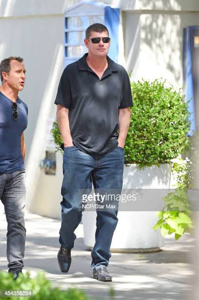James Packer is seen on August 29 2014 in New York City