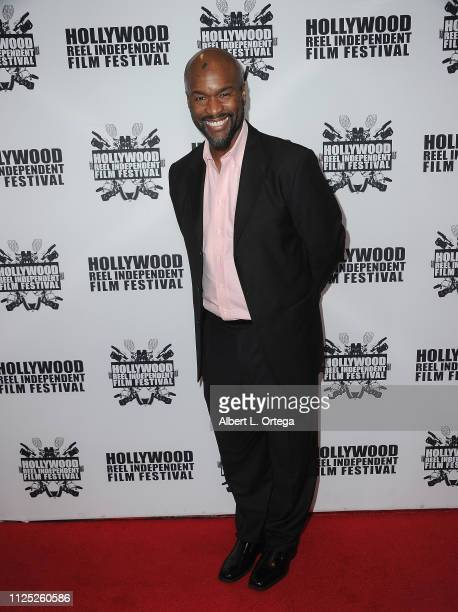 James Parris arrives for The 2019 Hollywood Reel Independent Film Festival held at Regal LA Live Stadium 14 on February 15 2019 in Los Angeles...