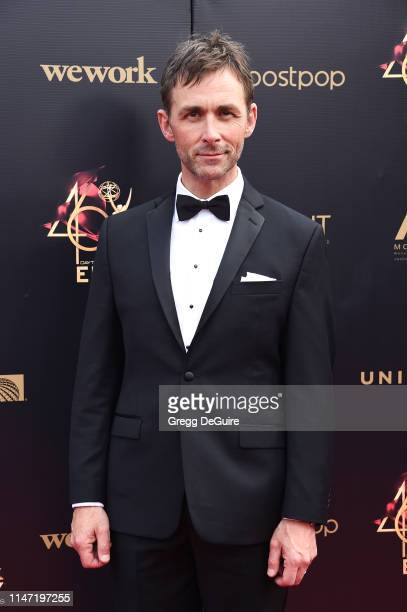 James Patrick Stuart attends the 46th annual Daytime Emmy Awards at Pasadena Civic Center on May 05 2019 in Pasadena California
