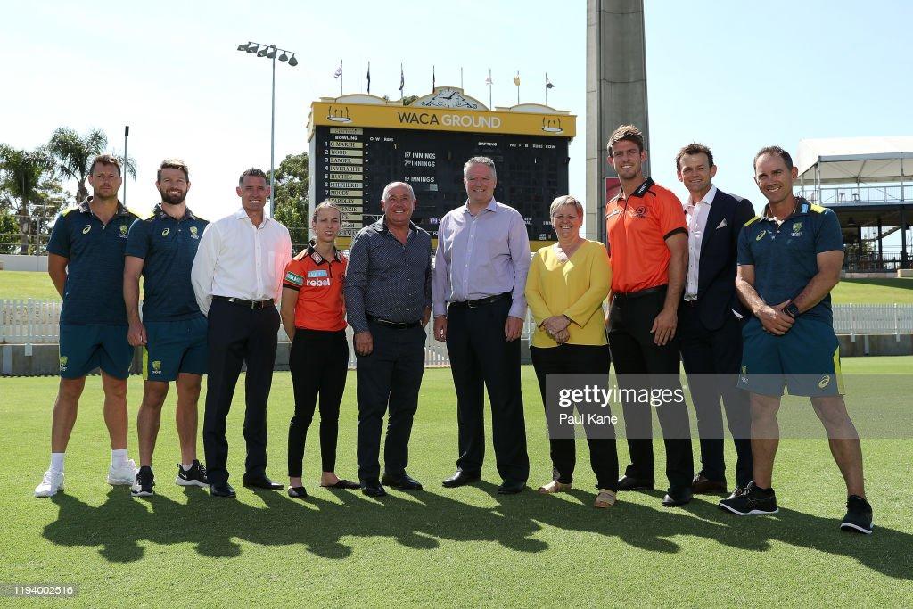 Cricket Australia Media Announcement : ニュース写真