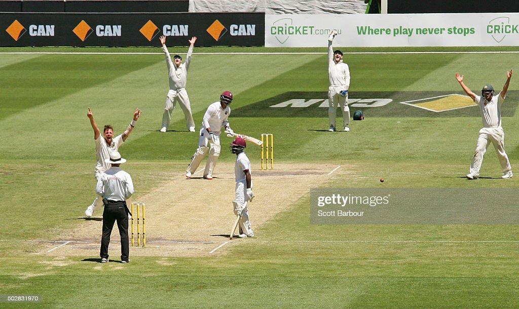 Australia v West Indies - 2nd Test: Day 4 : News Photo