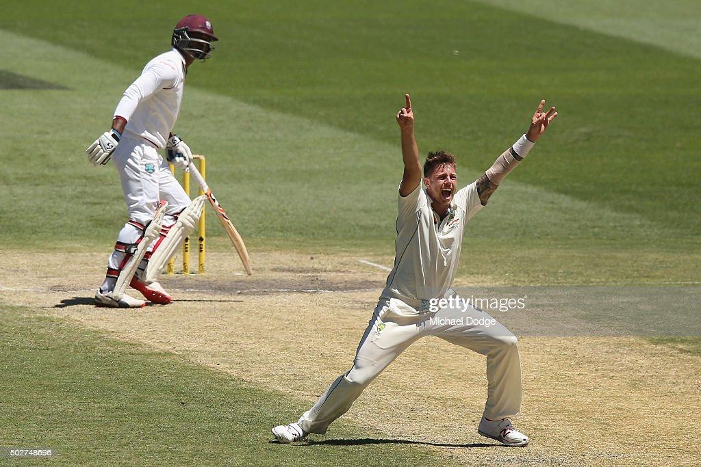 Australia v West Indies - 2nd Test: Day 4