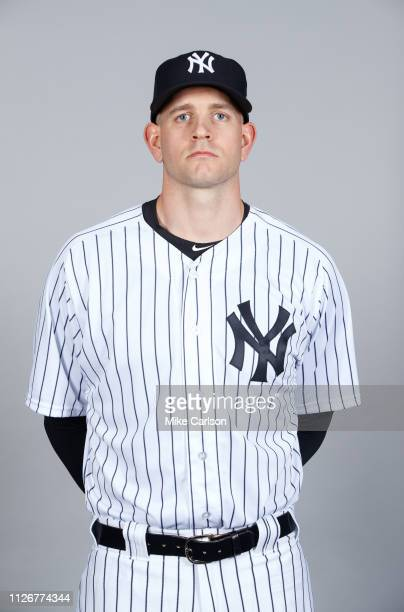 James Paxton of the New York Yankees poses during Photo Day on Thursday February 21 2019 at George M Steinbrenner Field in Tampa Florida