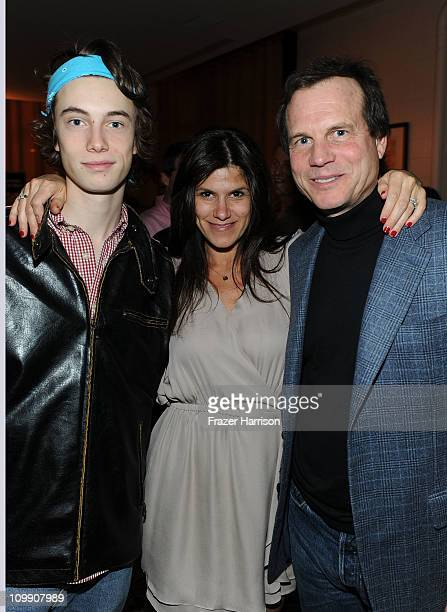 James Paxton, Robbie Brenner Executive Vice President of Production Relativity Media and Bill Paxton, actor attends he Have A Heart For Children...