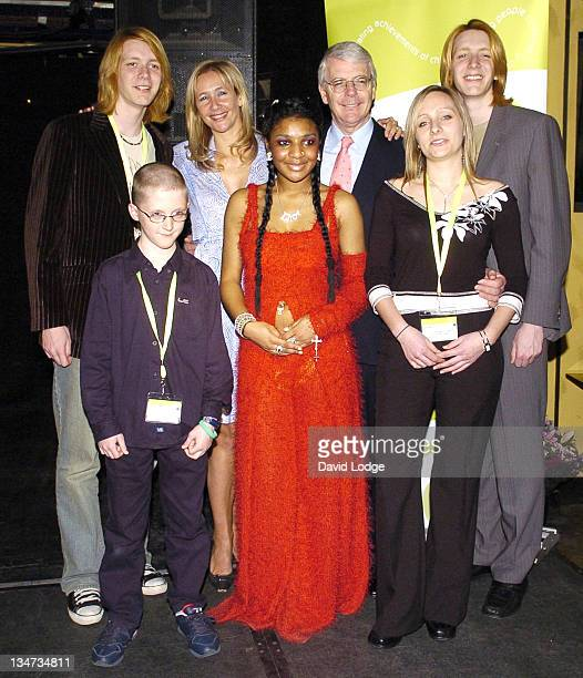 James Phelps and Tania James Phelps Tania Bryer John Major Lhamea Lall Amy Marriot and Oliver Phelps
