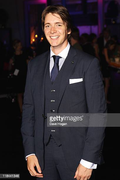 James Phelps attends the world premiere of Harry Potter and the Deathly Hallows Part 2 after party at Old Billingsgate Market on July 7 2011 in...