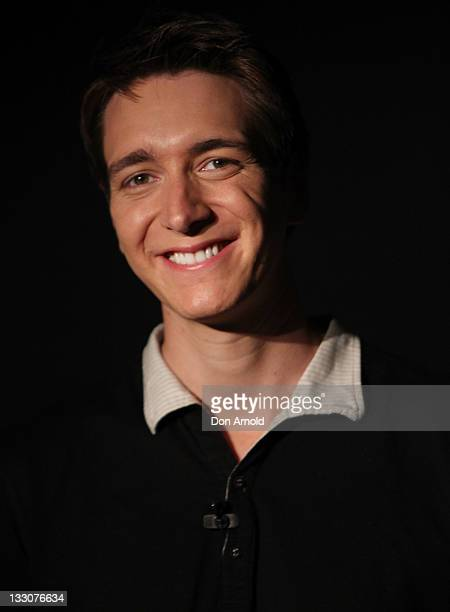 James Phelps poses at the Powerhouse Museum on November 17 2011 in Sydney Australia