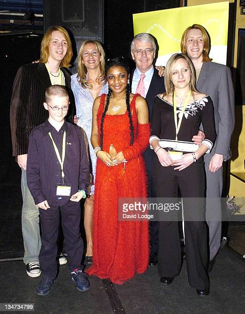 James Phelps Tania Bryer John Major Lhamea Lall Amy Marriot and Oliver Phelps