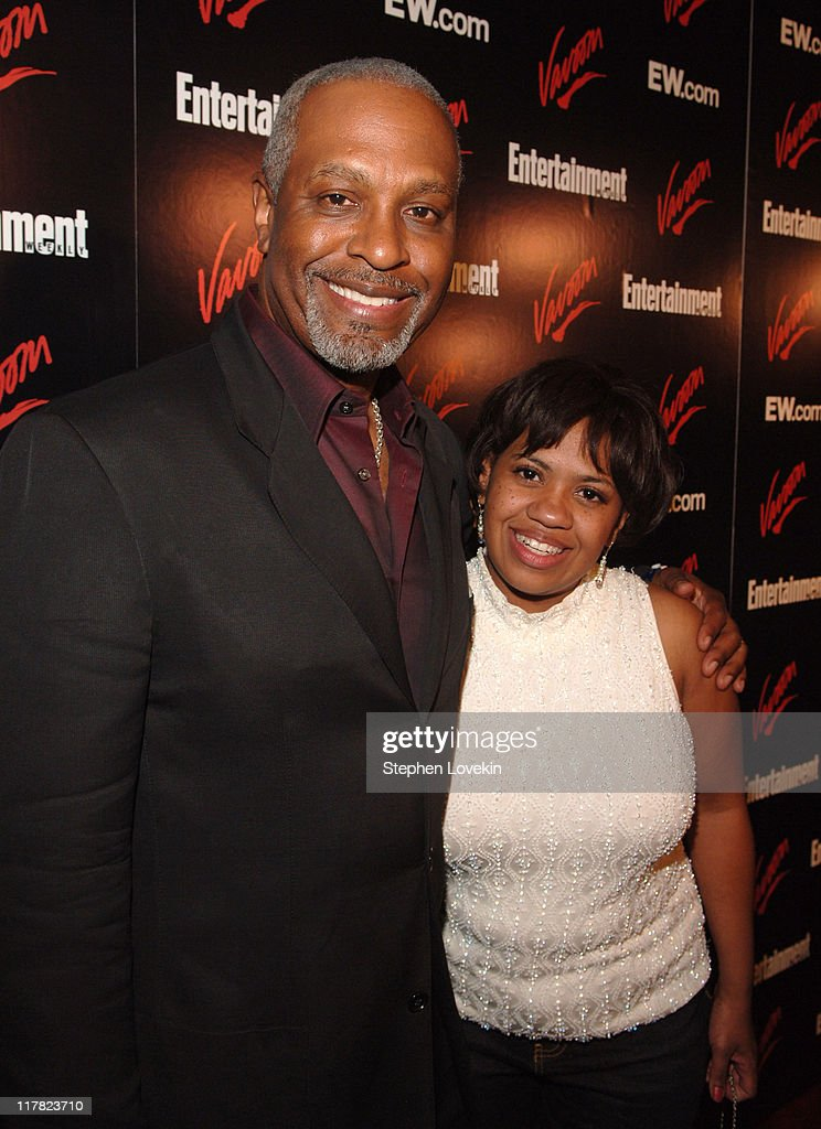 James Pickens and Chandra Wilson during Entertainment Weekly/Vavoom 2007 Upfront Party - Red Carpet at The Box in New York City, New York, United States.