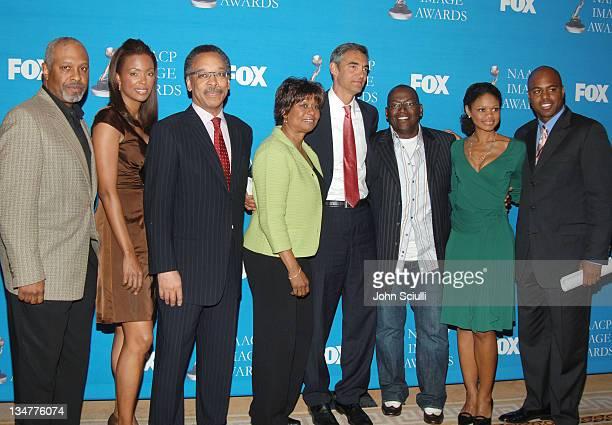 James Pickens Jr Aisha Tyler Bruce Gordon Clayola Brown Peter Liguori President Entertainment Fox Broadcasting Company Randy Jackson Kimberly Elise...