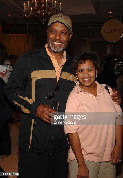 James Pickens Jr and Chandra Wilson during The 4th Annual Lucky Club Day 1 at The RitzCarlton Central Park South in New York City New York United...