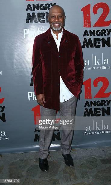 James Pickens Jr attends '12 Angry Men' at the Pasadena Playhouse on November 10 2013 in Pasadena California