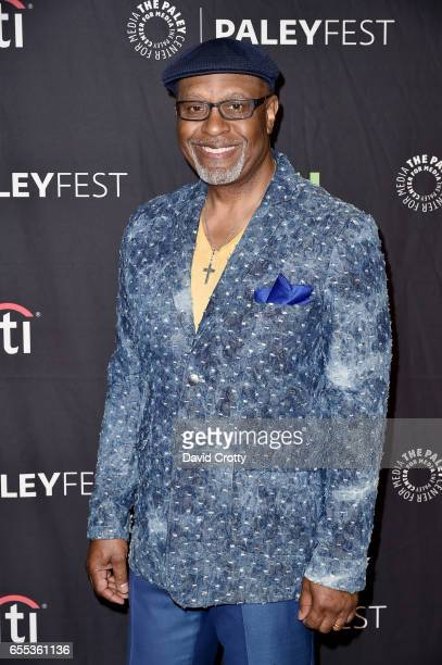 James Pickens Jr attends PaleyFest Los Angeles 2017 Grey's Anatomy at Dolby Theatre on March 19 2017 in Hollywood California