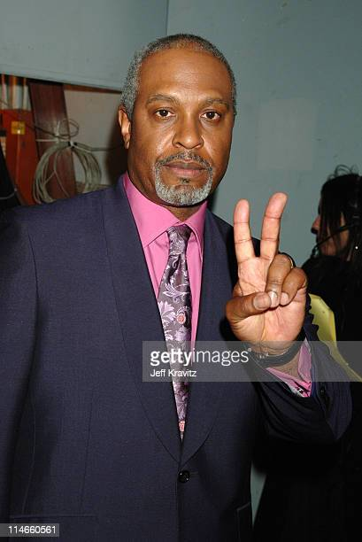 James Pickens Jr during 2006 TV Land Awards Backstage and Audience at Barker Hangar in Santa Monica California United States