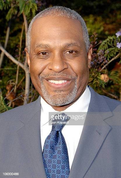 James Pickens Jr during Sixth Annual Chrysalis Butterfly Ball Arrivals at Home of Susan Harris Hayward Kaiser in Mandeville Canyon California United...