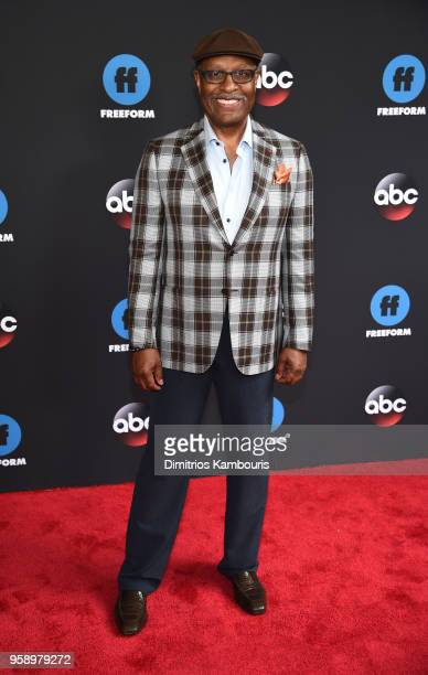 James Pickens Jr of Grey's Anatomy attends during 2018 Disney ABC Freeform Upfront at Tavern On The Green on May 15 2018 in New York City