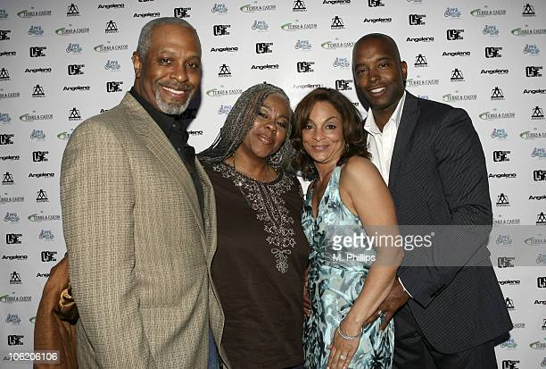 James Pickens wife Gina Jasmine Guy Executive Director and Terrence Duckette Executive Director