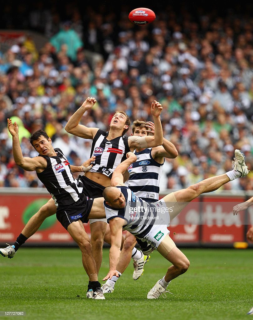 AFL Grand Final - Collingwood v Geelong : News Photo