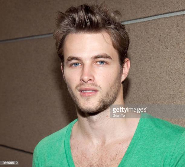 James Preston attends Talent Manager Mara Santino's Birthday Party at Lucky Strike Bowling Alley on January 10 2010 in Hollywood California