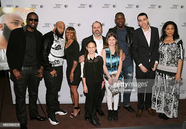James 'Primo' Grant Tamara Robinson Keith Miller Donnell Brant John Diaz and Wanda Nobles Colon attend the Five Star Premiere during the 2014 Tribeca...