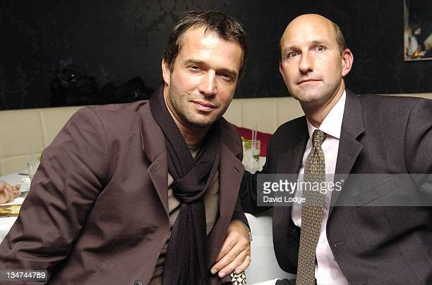 James Purefoy and guest during HBO's 'Rome' London Premiere at UGC Trocadero in London Great Britain