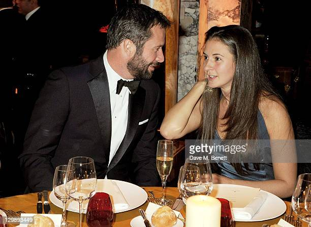 James Purefoy and Jessica Adams attend 'The Soiree Monegasque' hosted by Roger Dubuis CEO Georges Kern to launch 'Le Monegasque' range at the Hotel...