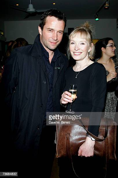 James Purefoy and Lindsay Duncan attend the a fundraiser party for the Almeida Theatre at the Almeida Theatre on March 23 2007 in London England