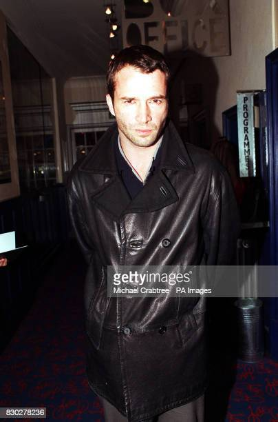 James Purefoy arriving at the Tricycle Theatre in London where he is performing in Paul Corcoran's black comedythriller 'Four Nights In...