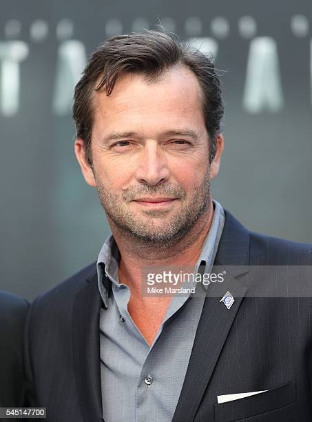 "James Purefoy attends the European premiere of ""The Legend Of Tarzan"" at Odeon Leicester Square on July 5, 2016 in London, England."