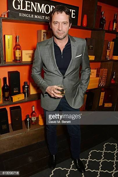 James Purefoy attends the launch of Glenmorangie and Finlay Co collaboration 'Beyond the Cask' on March 1 2016 in London England