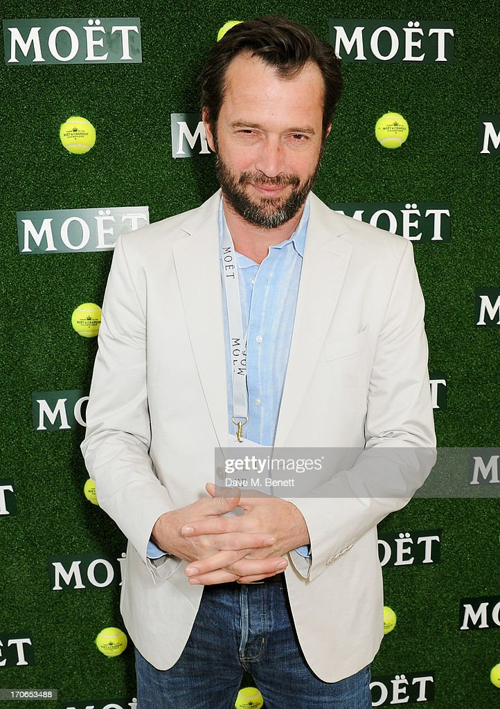 James Purefoy attends The Moet & Chandon Suite at The Aegon Championships Queens Club finals on June 16, 2013 in London, England.