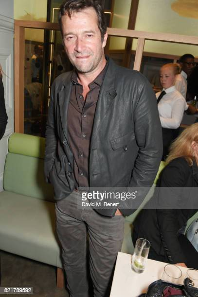 "James Purefoy attends the press night after party for ""Cat On A Hot Tin Roof"" at The National Cafe on July 24, 2017 in London, England."