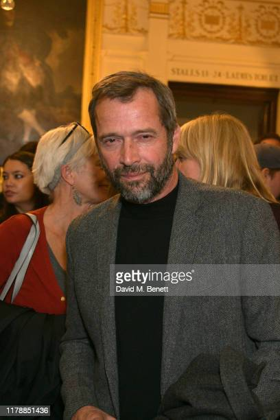 "James Purefoy attends the press night after party for ""Noises Off"" at The Garrick Theatre on October 03, 2019 in London, England."