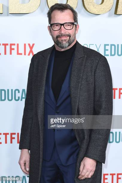 "James Purefoy attends the ""Sex Education"" Season 2 World Premiere at Genesis Cinema on January 08, 2020 in London, England."