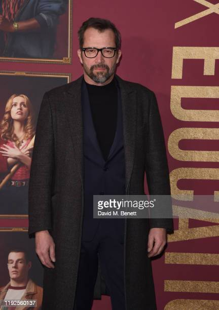 "James Purefoy attends the World Premiere of Netflix's ""Sex Education"" Season 2 at The Genesis Cinema on January 8, 2020 in London, England."