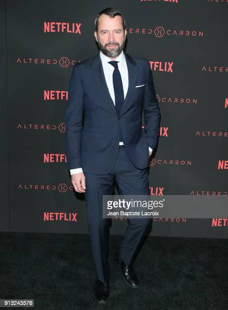 James Purefoy attends the World Premiere of the Netflix Original Series 'Altered Carbon' on February 1 2018 in Los Angeles California