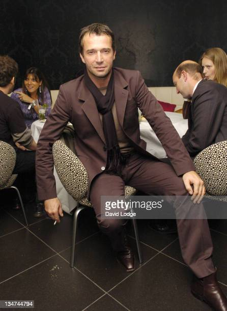 James Purefoy during HBO's 'Rome' London Premiere at UGC Trocadero in London Great Britain