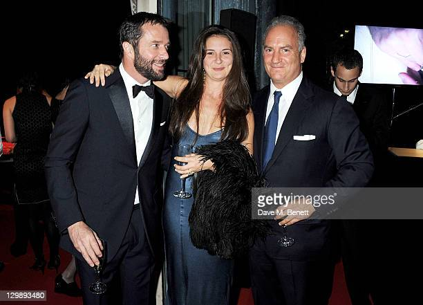James Purefoy, Jessica Adams and Charles Finch attend 'The Soiree Monegasque' hosted by Roger Dubuis CEO Georges Kern to launch 'Le Monegasque' range...